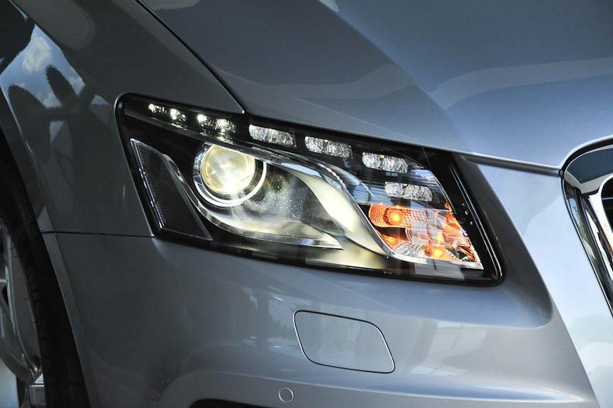 LEDのウイングライトはA4/A5と形状が異なる