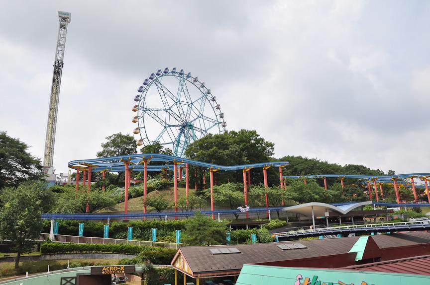 乗り物遊園地と言われただけあって、多摩テック内には多数の乗り物系アトラクションが用意されている