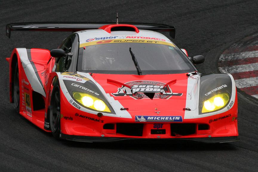 2位に入った43号車 ARTA Garaiya(新田守男/高木真一)。シリーズポイントでトップに立った