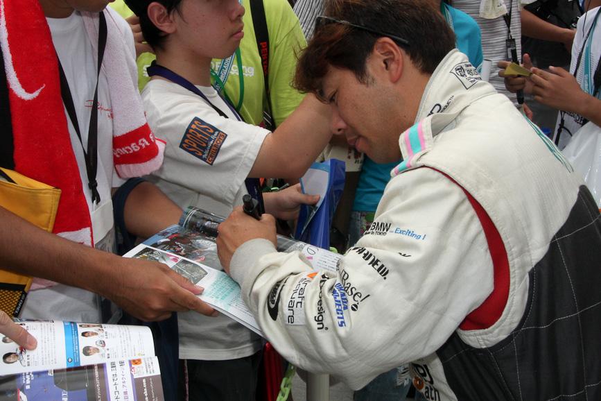 808号車 初音ミク Studie GLAD BMW Z4の菊池靖選手