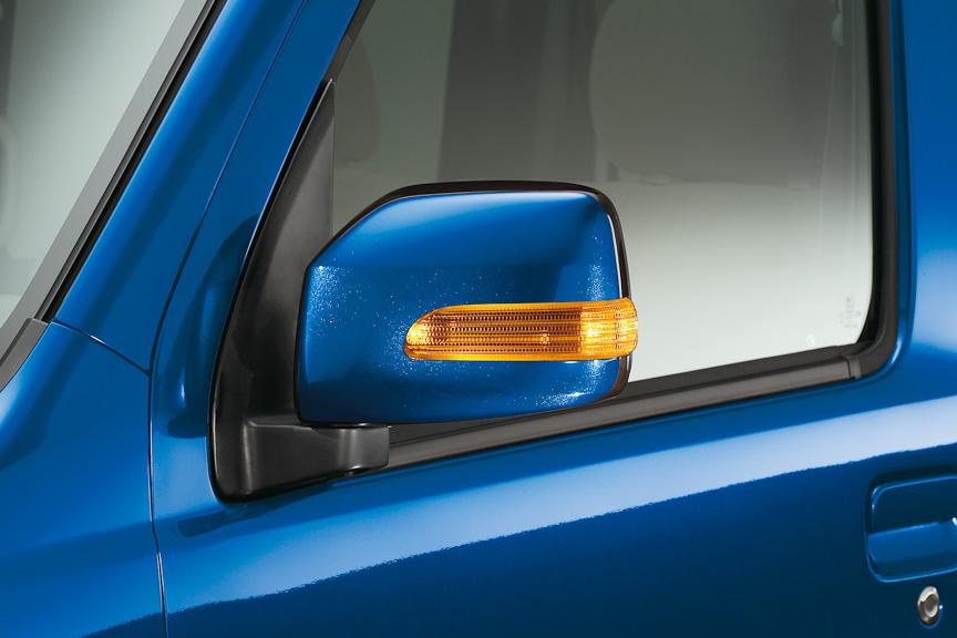 RS Limitedに標準装備のLEDサイドターンランプ
