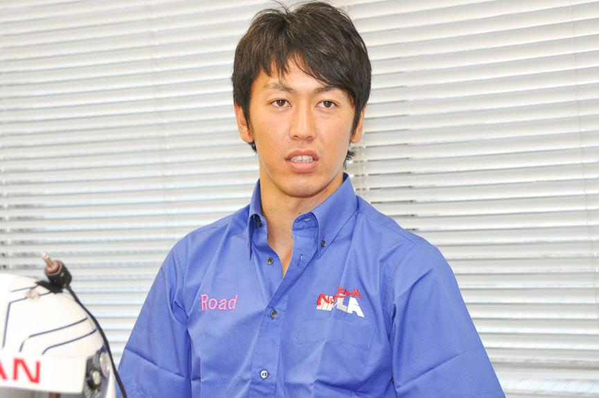 """柳田真孝選手は、その名前から""""マークン""""と呼ばれることが多い。実際荒選手もそのように呼びかけていた。しかし、その愛称とは裏腹のアツイ走りには要注目"""