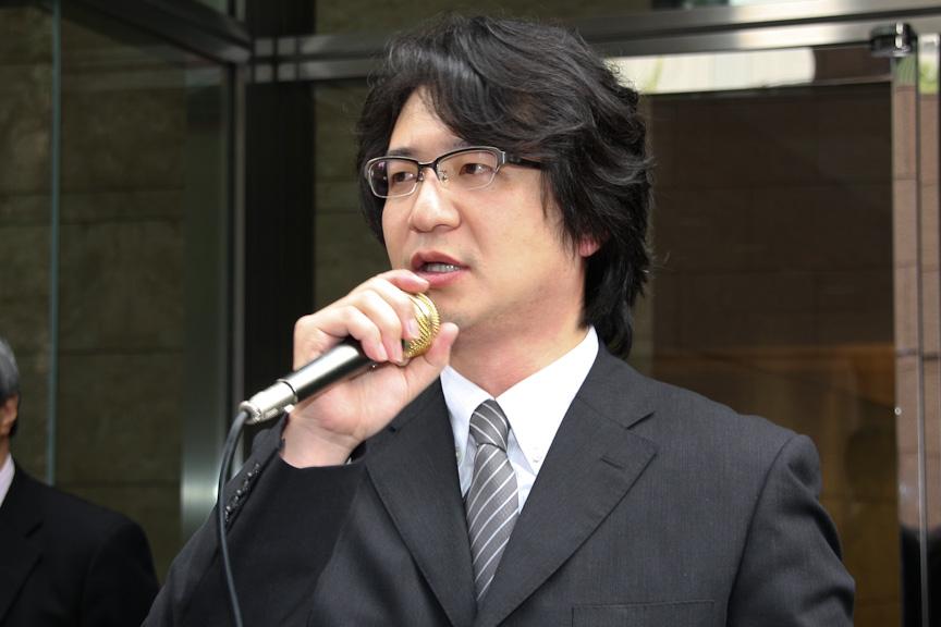 ミツオカ事業部 ミツオカ国内営業課 課長の笠原勝義氏