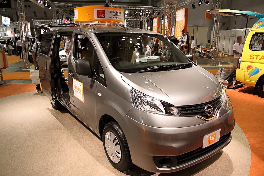 福祉車両LVシリーズ新型車のNV200 バネット チェアキャブ スロープタイプ