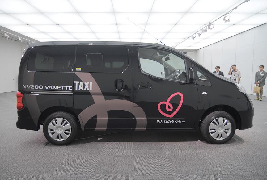 NV200バネット タクシー