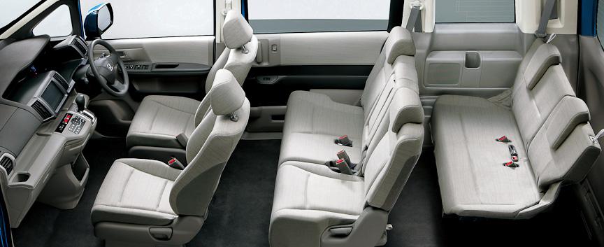 ステップワゴン G インテリア(グレー)オプション装着車