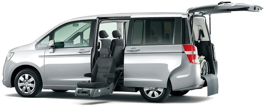 ステップワゴン G(FF)サイドリフトアップシート車(スーパープラチナ・メタリック)オプション装着車