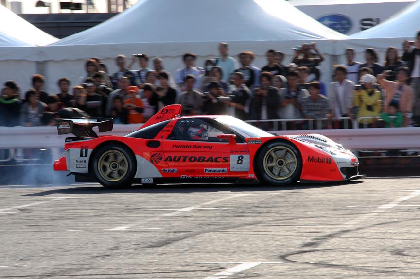 2006 ARTA NSXを運転したのは伊沢選手