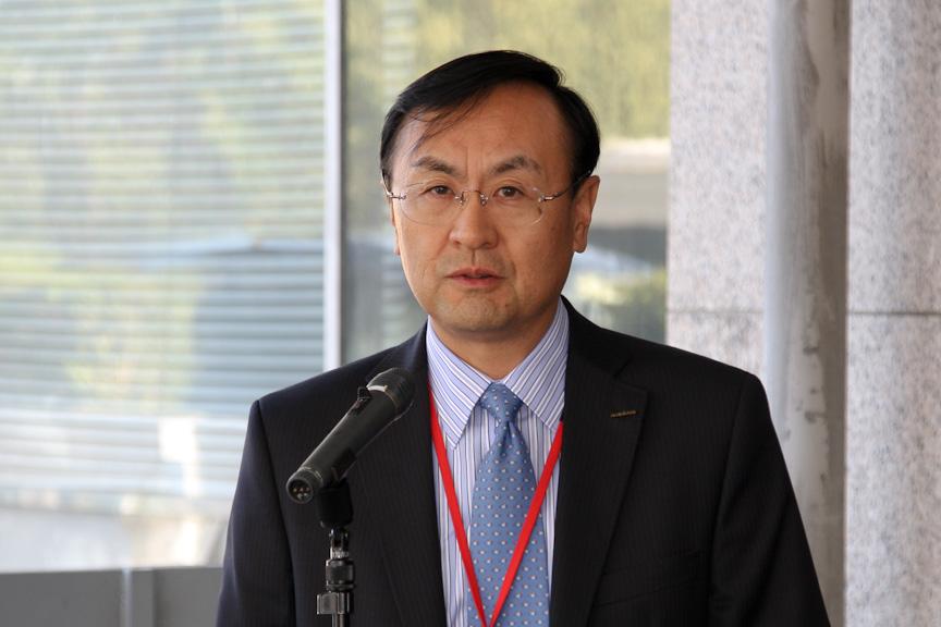 日産自動車 執行役員 グローバル LCV ビジネスユニット 村上秀人氏