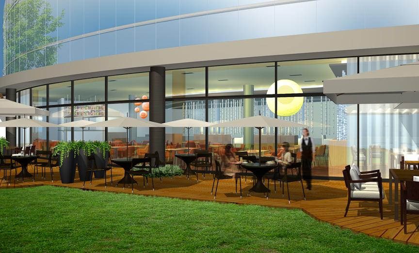 同じく1階の軽食・カフェ「LILY CAFE」(仮称)