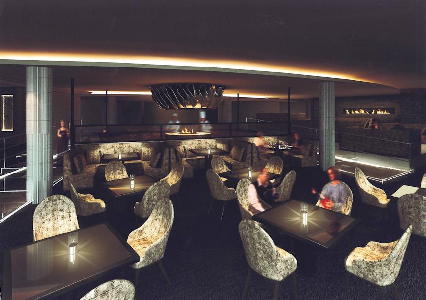 2階に設けられるグリルレストラン「ROSE GRILL」(仮称)のイメージ