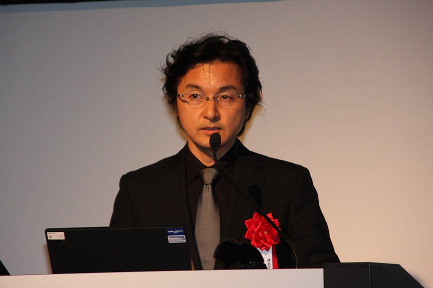 本田技術研究所主任研究員の名倉隆氏
