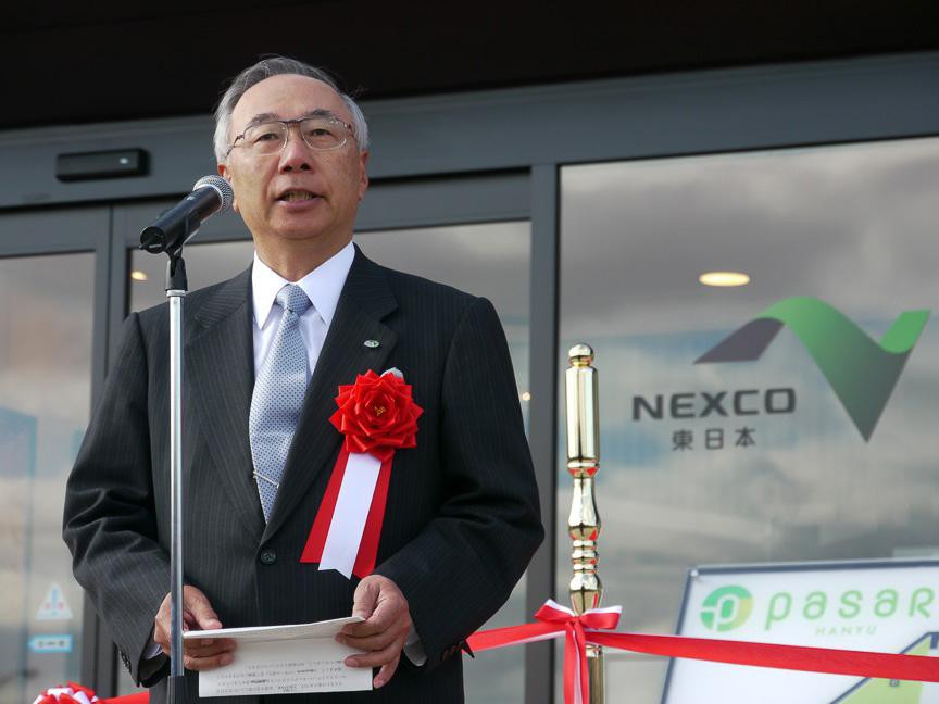 NEXCO東日本の井上啓一代表取締役