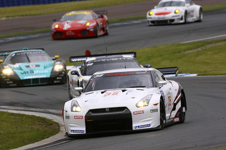 FIA GT選手権2010年仕様のGT-Rは、本山選手とブノワ・トレルイエ選手がドライブする予定(写真は2009年仕様)