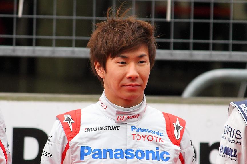 小林選手。今季終盤にやっとF1デビューを果たしただけに、トヨタF1撤退が非常に惜しまれる
