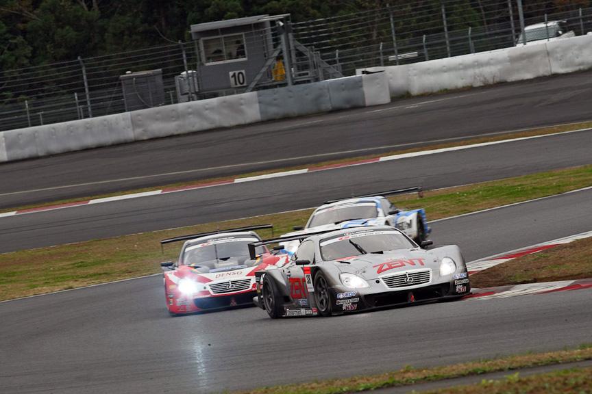 SUPER GTに参戦する7台のトヨタ系マシンによる「SUPER GT スーパーバトル」が行われた