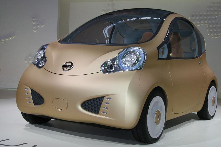 日産のEVのコンセプトカー「NUVU(ニューヴ)」
