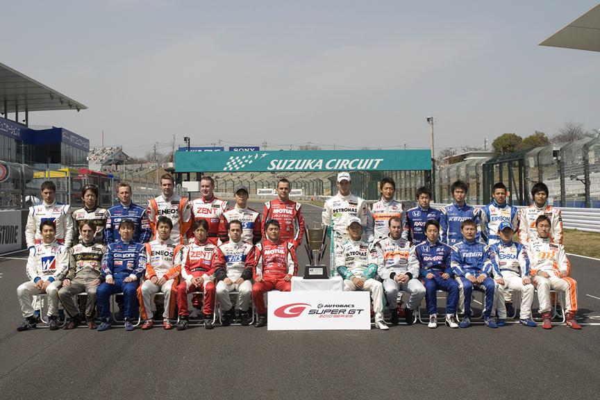今年GT500に参戦するドライバー