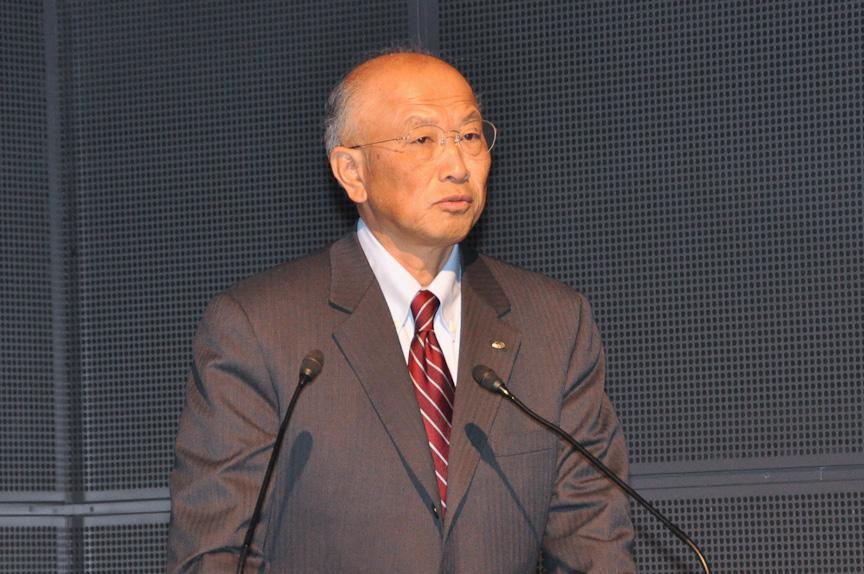 富士重工業 常務執行役員 スバル技術本部長 宮脇基寿氏
