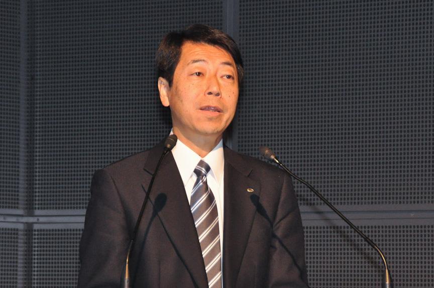 富士重工業 スバル技術本部 電子技術部担当部長 野沢良昭氏