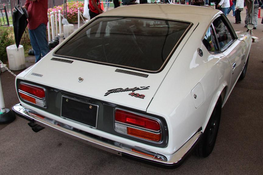 1970年式日産 フェアレディZ432。4バルブ、3連キャブ、ツインカムから432と名付けられた