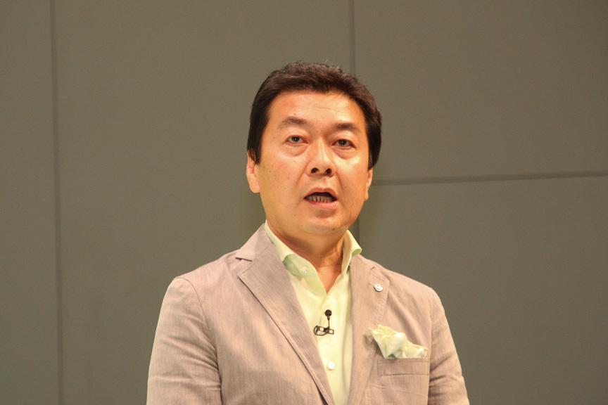 商品企画本部 商品企画室 チーフプロダクトスペシャリスト 石塚正樹氏