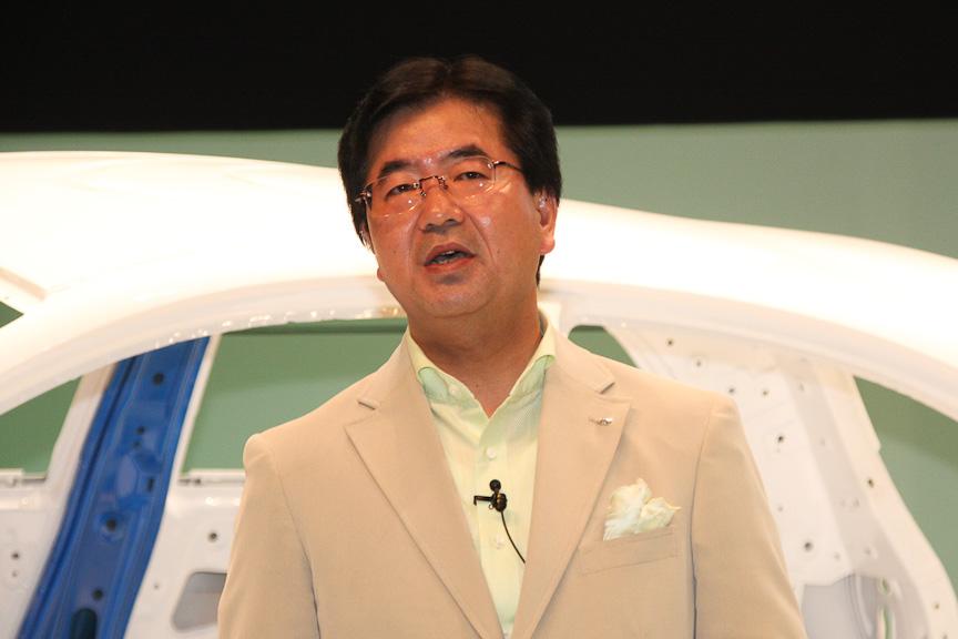 PV第一製品開発本部 チーフビークルエンジニア(Vプラットフォーム)小林毅氏