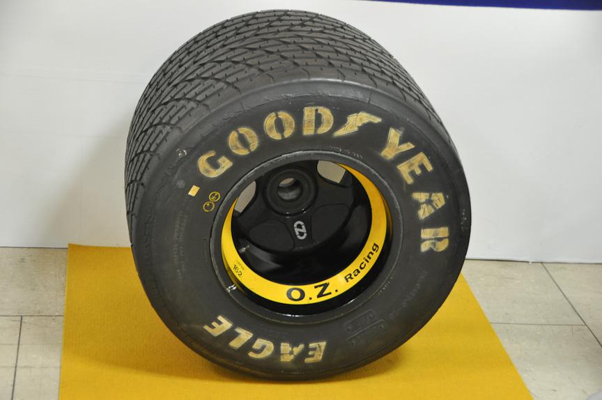 F1タイヤ。おそらく1970年代のもの