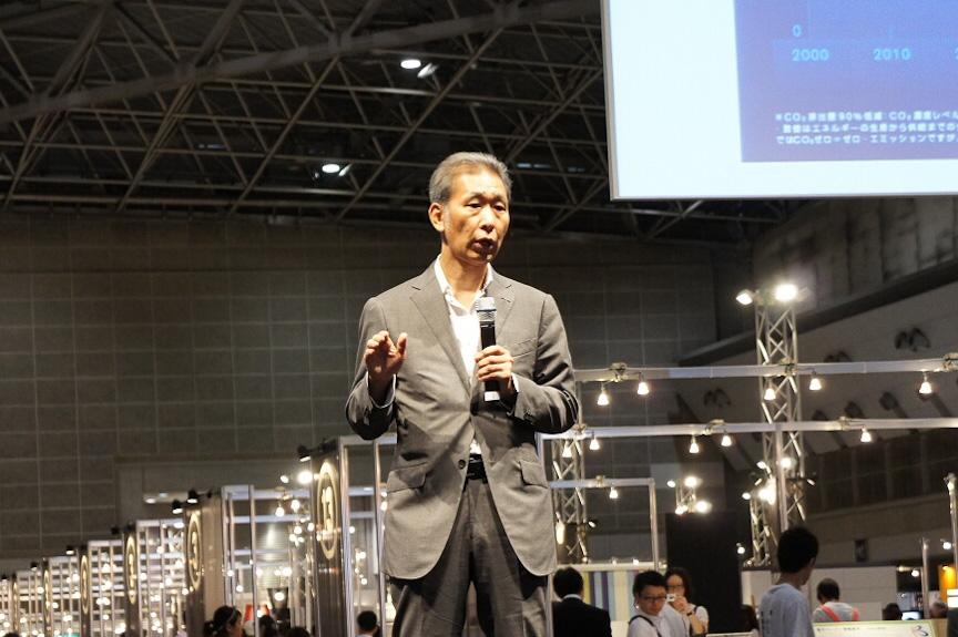 日産自動車 グローバルデザイン本部デザイン・ダイレクターの長野宏司氏
