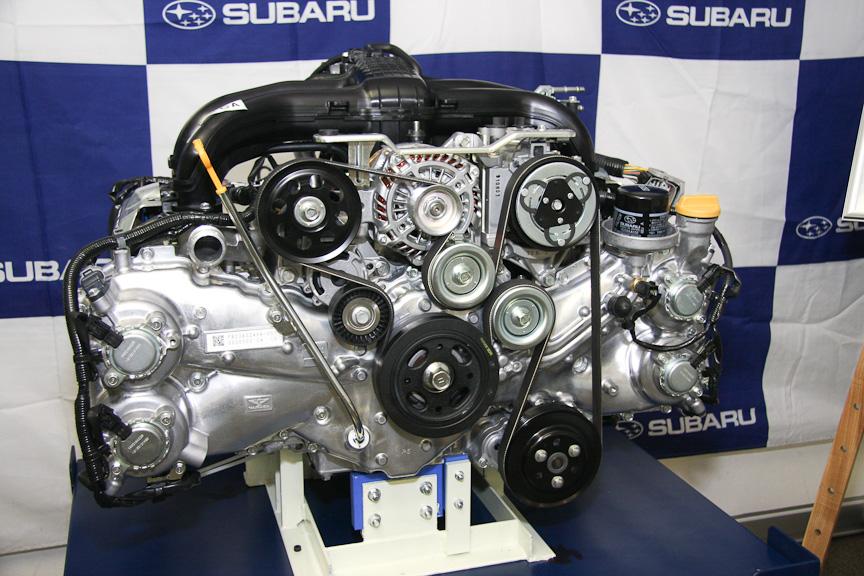第3世代水平対向4気筒エンジン「FB20型」