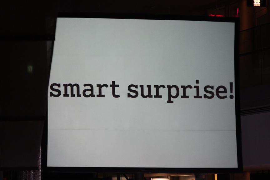 「スマート サプライズ」と称したさまざまなキャンペーンを今後展開