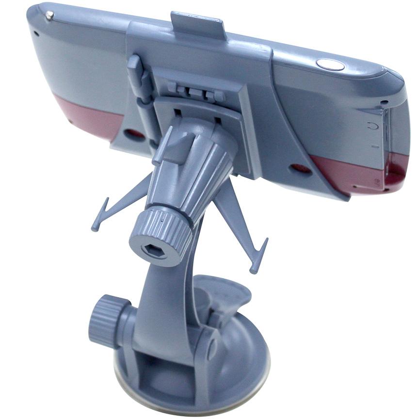 船尾型吸着式スタンド。宇宙戦艦ヤマトの特徴的な尾部が再現されている