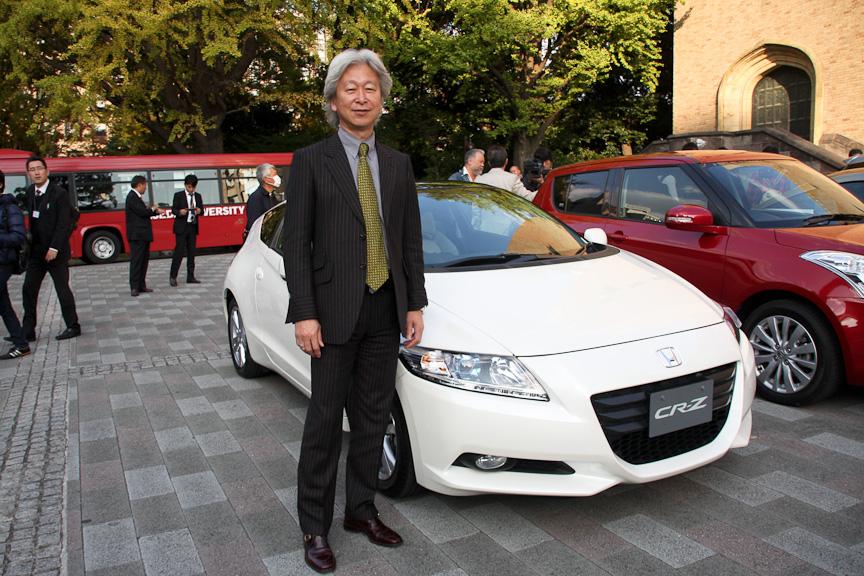 ホンダ 四輪事業本部で開発・技術主幹を務める繁浩太郎氏