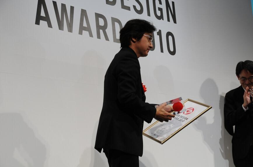 金賞を受賞したホンダ「CR-Z」担当の名倉隆氏