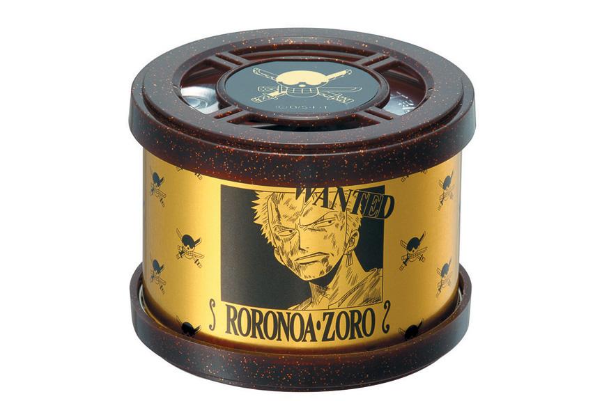 ワンピースエアフレッシュナー缶 GOLD ゾロ
