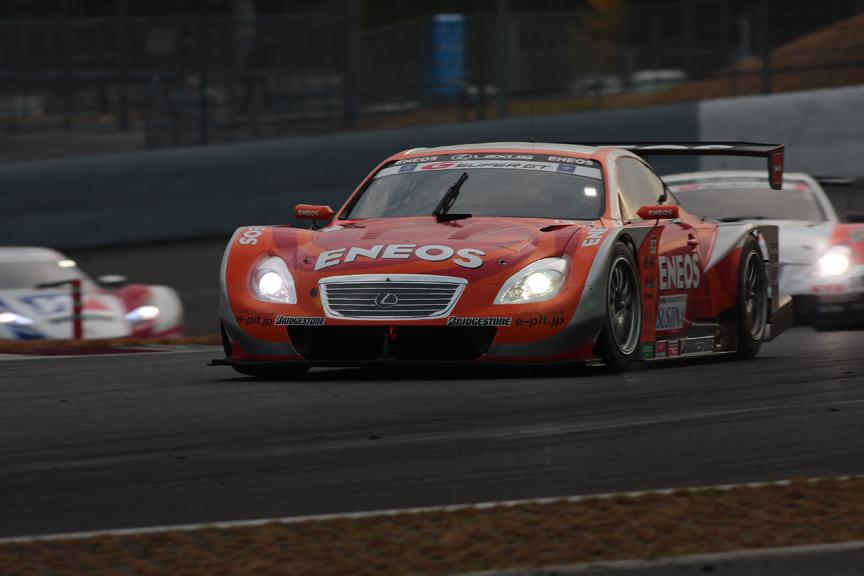 優勝した6号車 ENEOS SC430