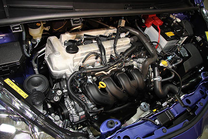 1.5リッターエンジン。4WD車の燃費は18.4km/L