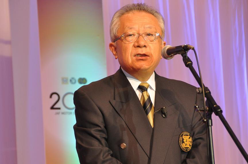 JAF会長 田中節夫氏