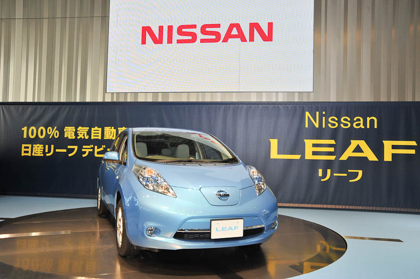 日産ギャラリーにはたま電気自動車とハイパーミニも展示されている