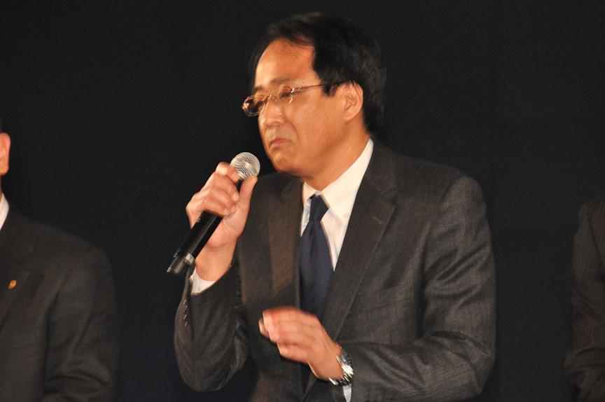 新型ヴィッツを担当した 商品開発本部 トヨタ第2乗用車センター 製品企画 チーフエンジニアの山本博文氏