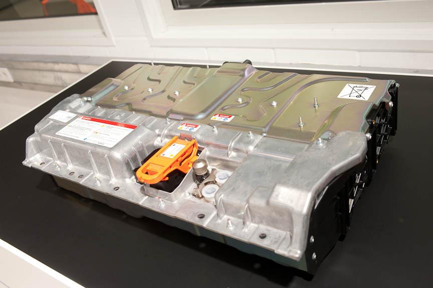 Q5ハイブリッドのリチウムイオンバッテリー