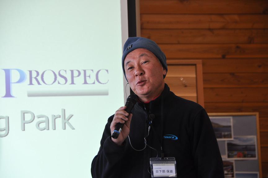 プロスペック代表日下部保雄氏。日本人として初めて海外ラリーを制覇した名ラリードライバー。元全日本ラリーチャンピオンでもある