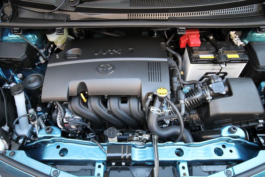 直列4気筒DOHCの1.5リッターエンジンを搭載