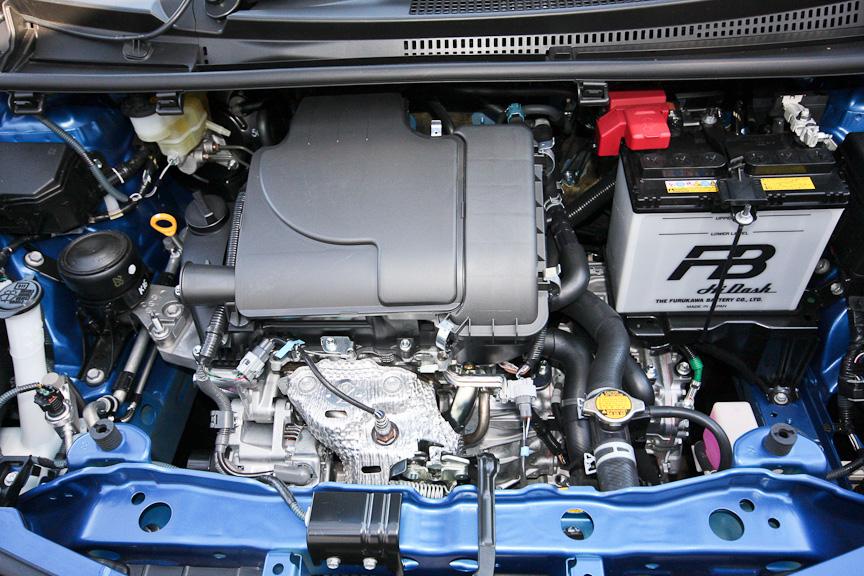 Fとジュエラに用意される1リッターエンジン
