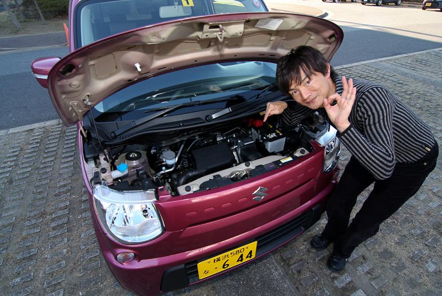 ターボエンジンのほうが圧倒的にパワフルだが、エンジンのモデルチェンジに伴い自然吸気のパワーフィールも向上したと岡本氏