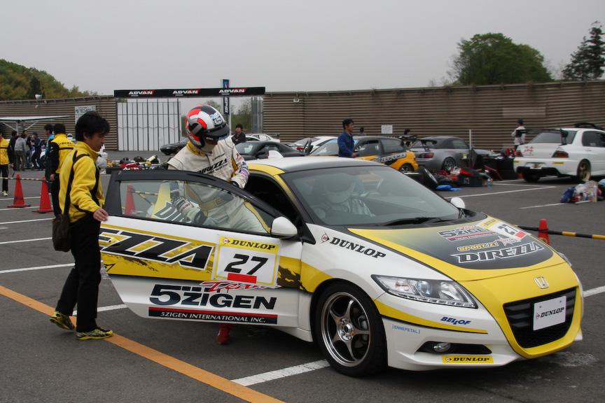 すべての参加者がプロドライバーの同乗走行を体感できた