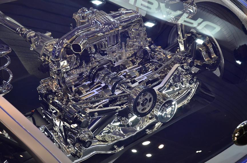 スバル(富士重工業)のボクサー スポーツカー アーキテクチャ