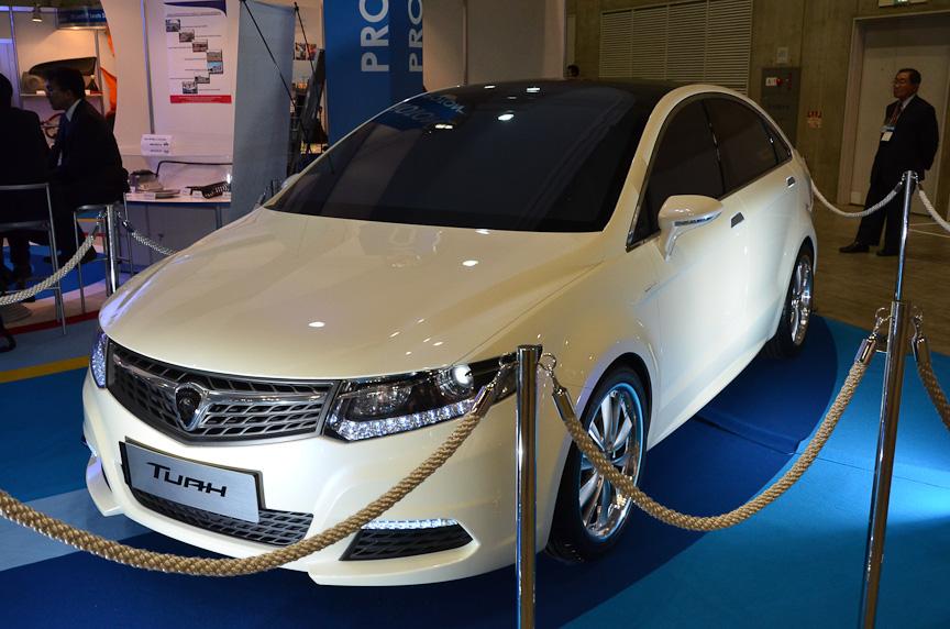 マレーシア プロトンのコンセプトカー