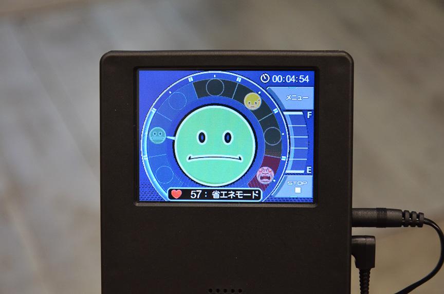自動車用シートのメーカーであるデルタ工業は、シートバックの圧力センサーでドライバーの体調をモニターするシステムを提案。疲れてくると警告が出る