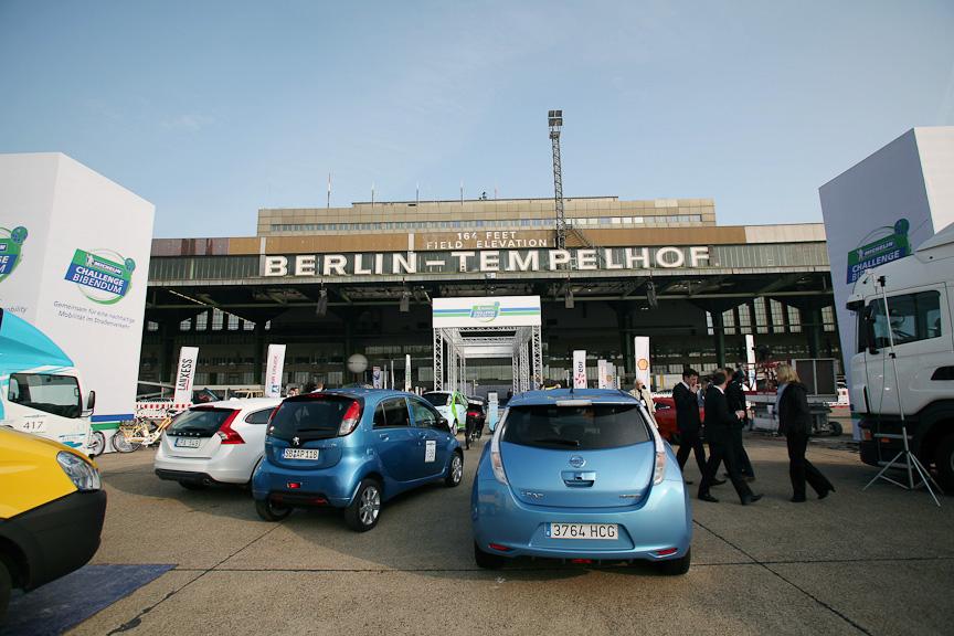 第11回ミシュラン・チャレンジ・ビバンダムが開催された旧テンペルホーフ空港。ベルリン市内にある
